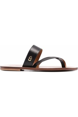 DEE OCLEPPO Damen Sandalen - Crossover strap sandals