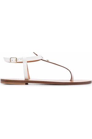 DEE OCLEPPO Lizard-effect sandals