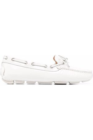 Dee Ocleppo Bow-embellished driving loafers