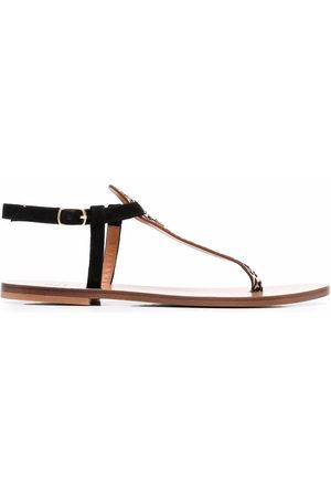 Dee Ocleppo Damen Sandalen - Leopard-print sandals