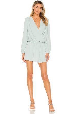 Amanda Uprichard Ciara Dress in - Sage. Size L (also in XS, S, M).