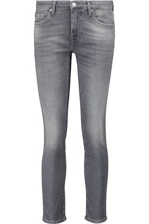 7 for all Mankind Low-Rise Skinny Jeans Pyper