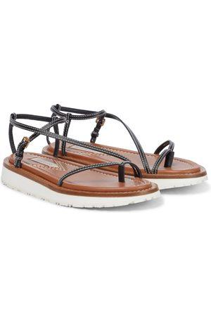 ZIMMERMANN Sandalen aus Leder