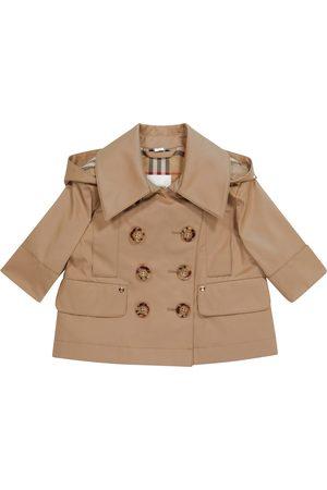 Burberry Baby Trenchcoat aus Baumwoll-Twill