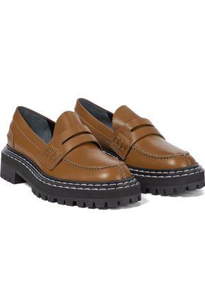 Proenza Schouler Loafers aus Leder
