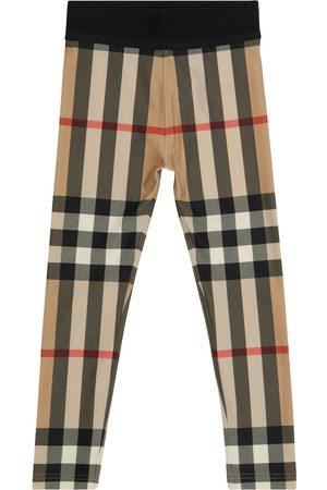 Burberry Kids Leggings Vintage Check