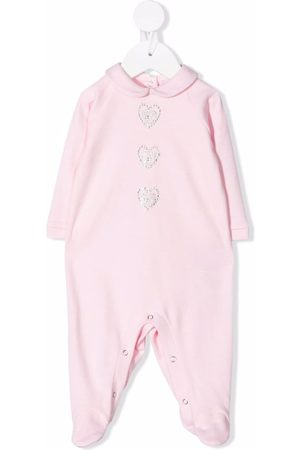 Chiara Ferragni Kids Gem-logo cotton pyjamas