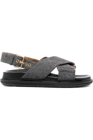 Marni Damen Sandalen - Criss-cross Fussbett sandals
