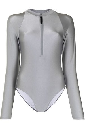 Perfect Moment Spring logo-print surf suit