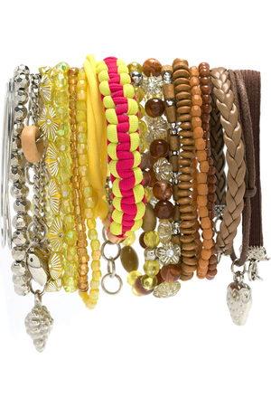 AMIR SLAMA Charm-embellished bracelet set