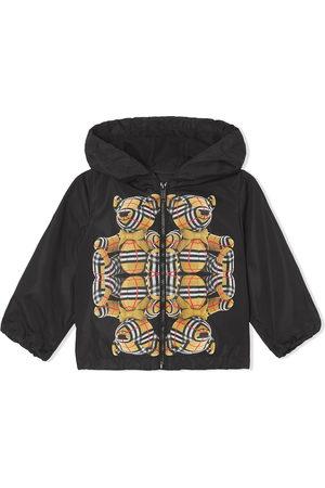 Burberry Kids Bear-print hooded jacket
