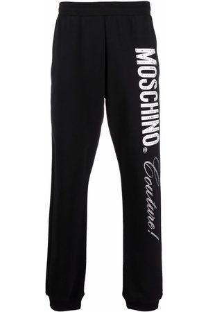 Moschino Couture logo-print track pants