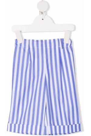 SIOLA Stripe-print cotton shorts