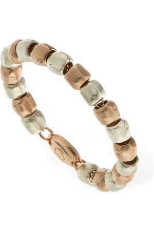 "Dodo Damen Ringe - 9kt Rosé - & Silber-ring ""granelli"""