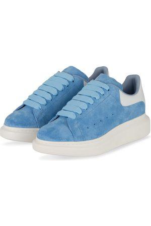 Alexander McQueen Plateau-Sneaker blau