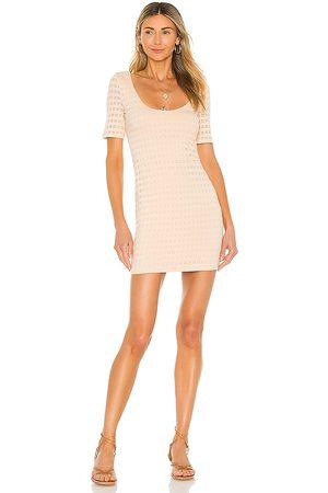 Lovers + Friends Erica Mini Dress in - Cream. Size L (also in XXS, XS, S, M, XL).
