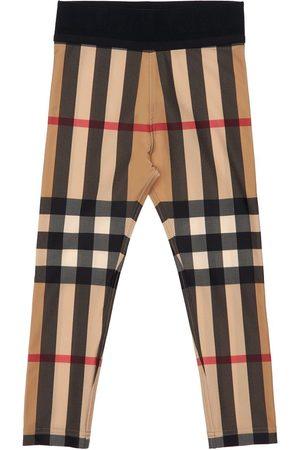 BURBERRY Techno-leggings