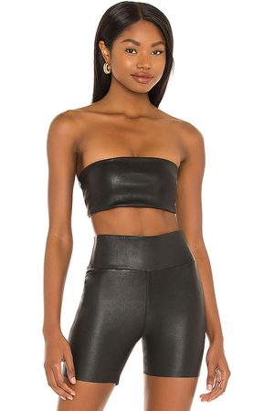 SPRWMN Leather Bandeau Top in - . Size L (also in XS, S, M).