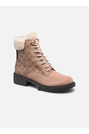 Coach Lorimer Coated Canvas Bootie by