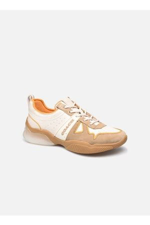 Coach Citysole Leather-Terrycloth Runner by