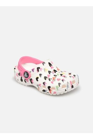 Crocs Classic Heart Print Clog K by