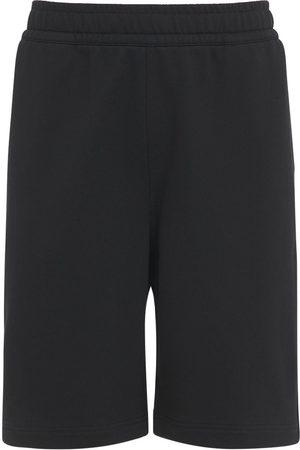 Burberry Herren Shorts - Shorts Aus Baumwolljersey Mit Logo