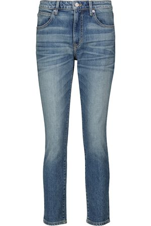 SLVRLAKE High-Rise Cropped Jeans California