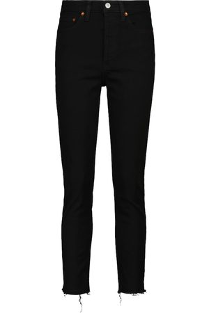 RE/DONE High-Rise Skinny Jeans 90s