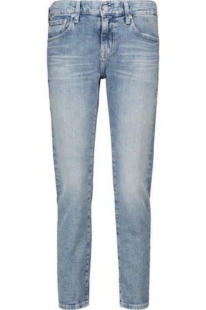 AG Jeans Low-Rise Slim Jeans Ex-Boyfriend