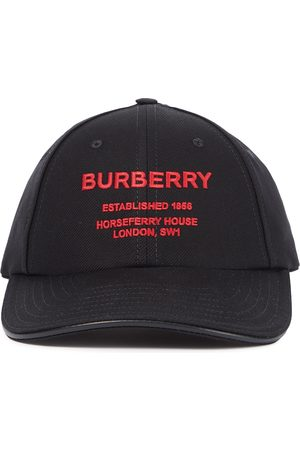 Burberry Baseballcap aus Baumwoll-Canvas
