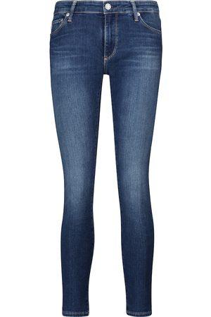 AG Jeans Mid-Rise Skinny Jeans Legging Ankle