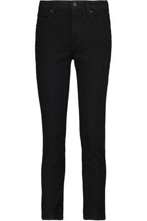 SLVRLAKE Mid-Rise Slim Jeans Lou Lou