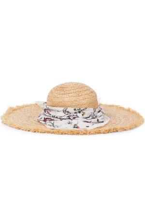 Erdem Hut aus Raffiabast
