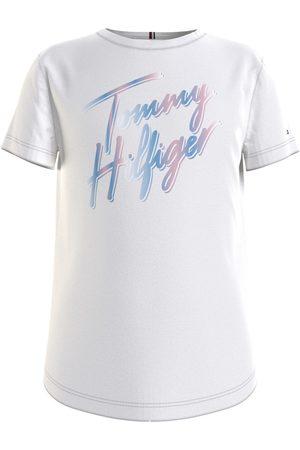 Tommy Hilfiger Mädchen Shirts - T-Shirt für Kinder KG0KG05870-YBR madchen