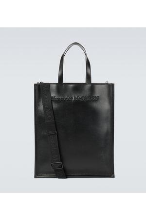 Alexander McQueen Tote Bag aus Leder