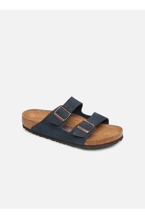 Birkenstock Arizona Cuir Suede Soft Footbed M by