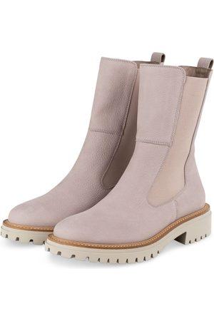 Paul Green Damen Stiefeletten - Chelsea-Boots grau