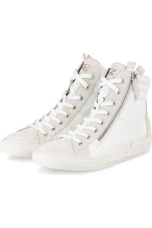 Paul Green Hightop-Sneaker weiss