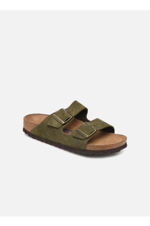 Birkenstock Arizona Cuir Suede Soft Footbed W by