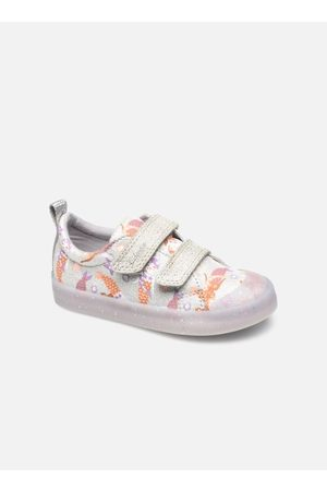 Clarks Foxing Print T by
