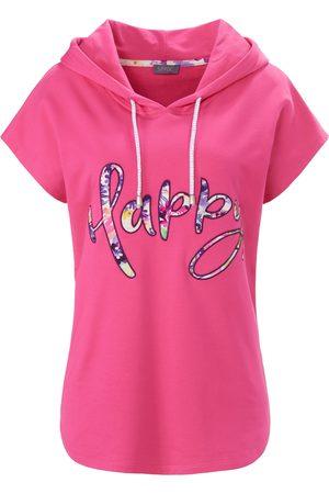 MYBC Damen Sweatshirts - Sweatshirt Kapuze pink