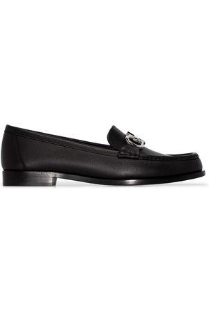 Salvatore Ferragamo Damen Halbschuhe - Polo leather loafers