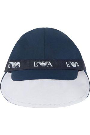 Emporio Armani Logo-tape baseball cap