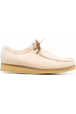 Clarks Herren Schnürschuhe - Wallabee lace-up leather shoes