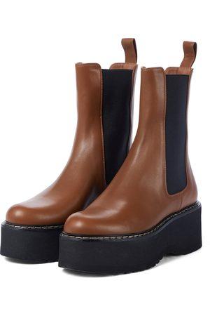 Paris Texas Damen Stiefeletten - Exklusiv bei Mytheresa – Chelsea Boots aus Leder