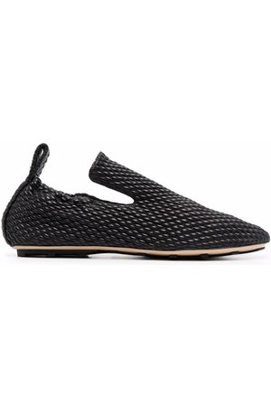 Bottega Veneta Herren Halbschuhe - Lattice quilted slippers