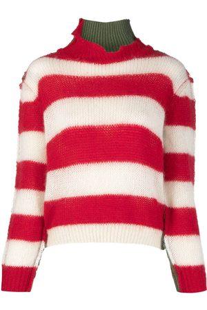 Marni Multi-panel striped jumper