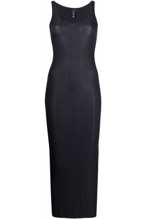 MAISON CLOSE Ribbed fitted maxi dress