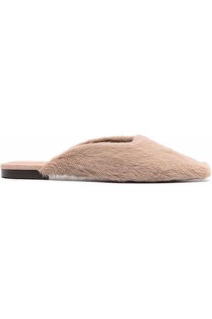 12 STOREEZ Slip-on square-toe mules