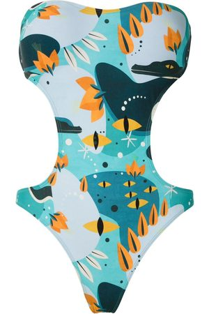 Lygia & Nanny Taylor printed swimsuit